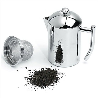 Frieling Stainless Steel 0.5-Quart Tea Maker w/ Infuser Basket