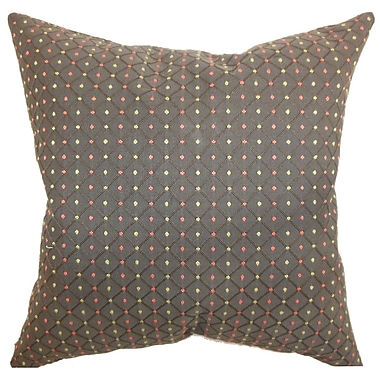 The Pillow Collection Ocelfa Dots Throw Pillow; 20'' x 20''