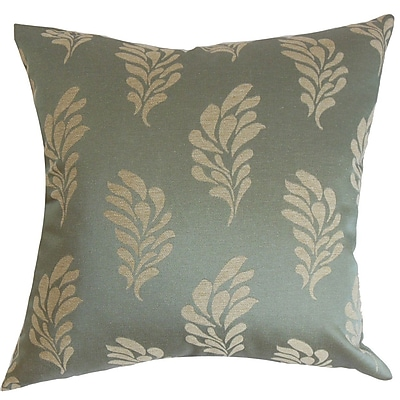 The Pillow Collection Enchanter Floral Throw Pillow Cover