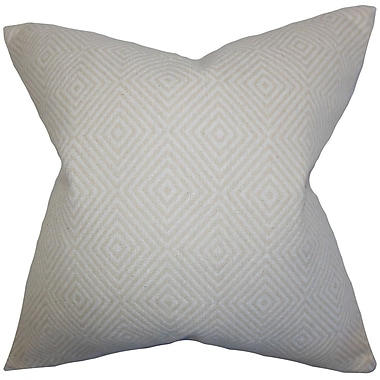 The Pillow Collection Narva Geometric Cotton Throw Pillow Cover