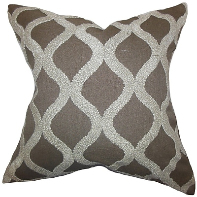 Brayden Studio Kidd Geometric Throw Pillow; 20'' x 20''