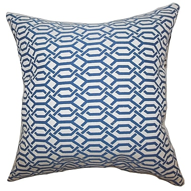 The Pillow Collection Catriona Geometric Throw Pillow; 20'' x 20''