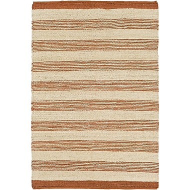 Artistic Weavers Portico Lexie Hand-Woven Orange Area Rug; 5' x 7'6''