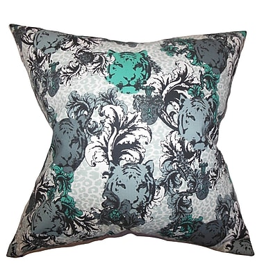 The Pillow Collection Eavan Floral Cotton Throw Pillow; 20'' x 20''
