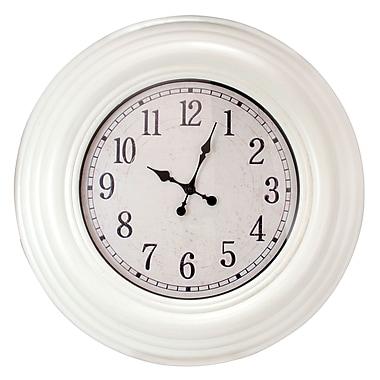 nexxt Design Kiera Grace Oversized 28'' Wall Clock; White