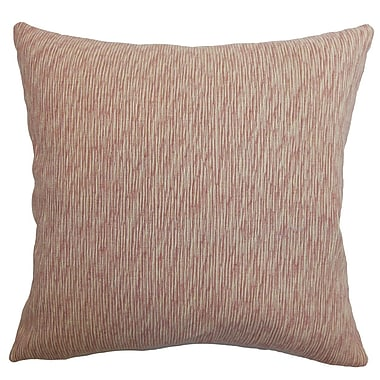 The Pillow Collection Kaesha Solid Silk Throw Pillow Cover