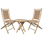 Heather Ann 3 Piece Seating Group; Natural