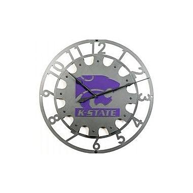 HensonMetalWorks 36'' NCAA Logo Wall Clock; Kansas State University