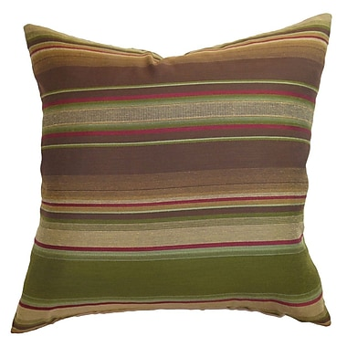 The Pillow Collection Neville Stripes Throw Pillow; 20'' x 20''