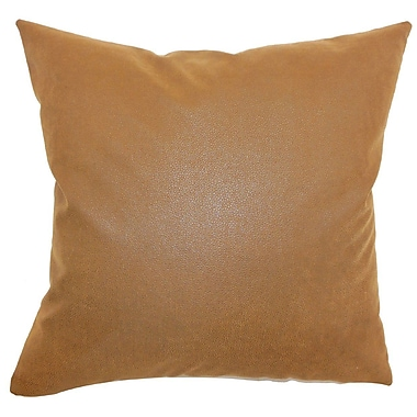 The Pillow Collection Neale Solid Throw Pillow Cover