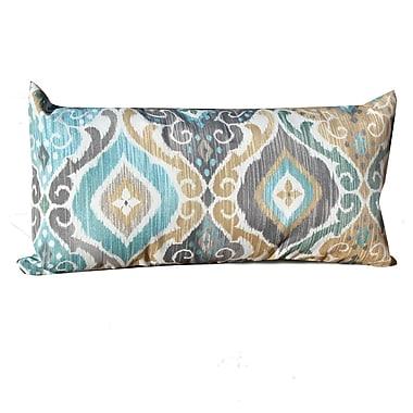 TK Classics Persian Mist Outdoor Lumbar Pillow (Set of 2)