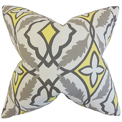 The Pillow Collection Beck Geometric Cotton Throw Pillow Cover