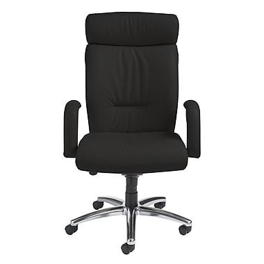 Nightingale Chairs Manno High-Back Executive Chair; Black
