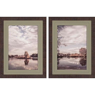 Paragon Reflect by Poinski 2 Piece Framed Photographic Print Set
