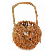 SheasWildflowers Wicker Jack O' Lantern Basket