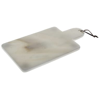 Thirstystone Small White Marble Paddle Serving Board
