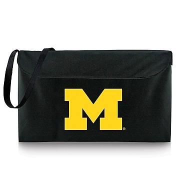 Picnic Time NCAA Bean Bag Throw Football Cornhole; Michigan