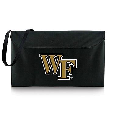 Picnic Time NCAA Bean Bag Throw Football Cornhole; Wake Forest