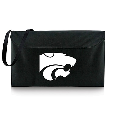 Picnic Time NCAA Bean Bag Throw Football Cornhole; Kansas State