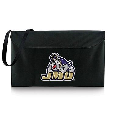 Picnic Time NCAA Bean Bag Throw Football Cornhole; James Madison