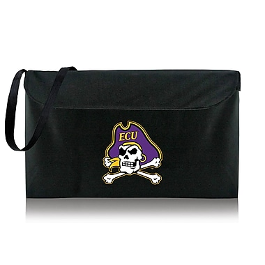 Picnic Time NCAA Bean Bag Throw Football Cornhole; East Carolina