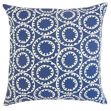 The Pillow Collection Gaerwn Geometric Outdoor Throw Pillow Cover