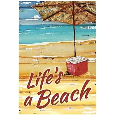 The Cranford Group Life's a Beach Garden Flag