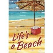 The Cranford Group Life's a Beach Garden Flag