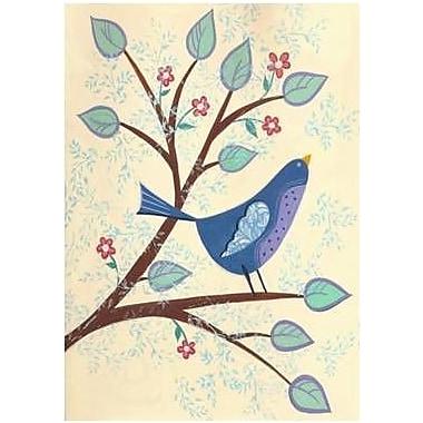 The Cranford Group Spring Bluebird Garden Flag