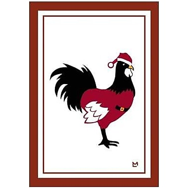 The Cranford Group Rooster Clause Garden Flag