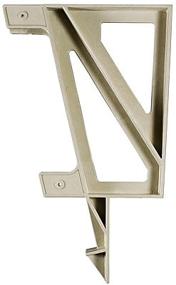 2x4 Basics Deck Bench Bracket; Sand