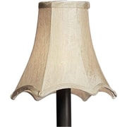 Forte Lighting 6'' Fabric Paper Novelty Candelabra Shade