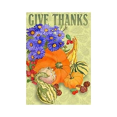 The Cranford Group Give Thanks Garden Flag