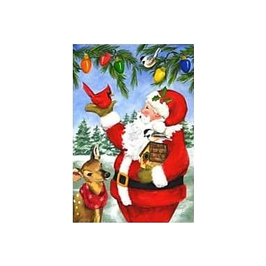The Cranford Group Santa and Friends Garden Flag