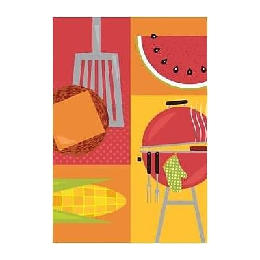 The Cranford Group Graphic Barbecue Garden Flag