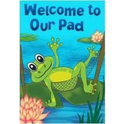 The Cranford Group Welcome to Our Pad Garden Flag