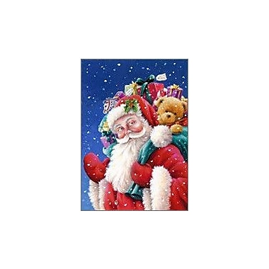 The Cranford Group Santa and Gifts Garden Flag