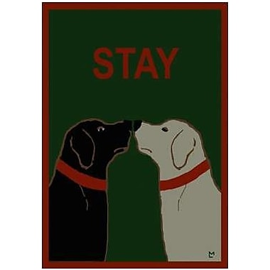 The Cranford Group Stay Dogs Garden Flag