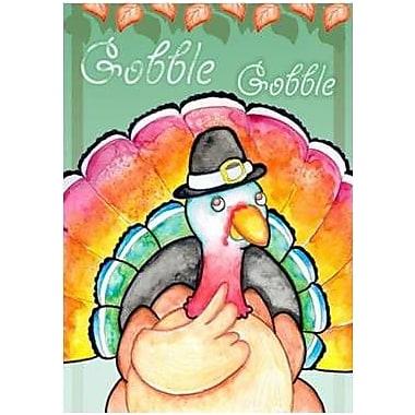 The Cranford Group Gobble Gobble Turkey Garden Flag