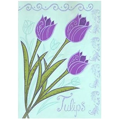 The Cranford Group Tulips Garden Flag