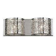 Worldwide Lighting Aramis 2-Light LED Wall Sconce Light