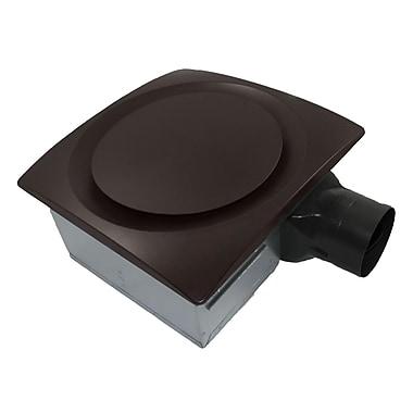 Aero Pure SlimFit 120 CFM Energy Star Bathroom Fan w/ Sensor; Oil Rubbed Bronze