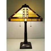 Fine Art Lighting Tiffany-style 23'' Table Lamp