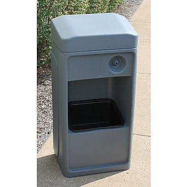 Forte Product Solutions Convenience Windshield Motion Sensor Trash Can; Grey