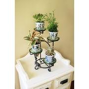 ACHLA Glass Pot Planter w/ Stand