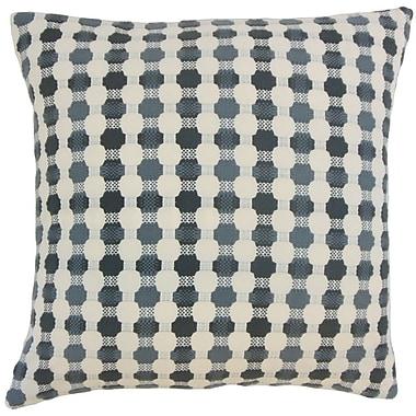 The Pillow Collection Gafnit Geometric Throw Pillow