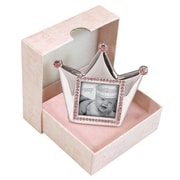 StephanBaby Royalty Crown Picture Frame; Pink