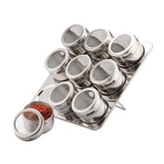 Meglio 10 Jar Spice Jar & Rack Set