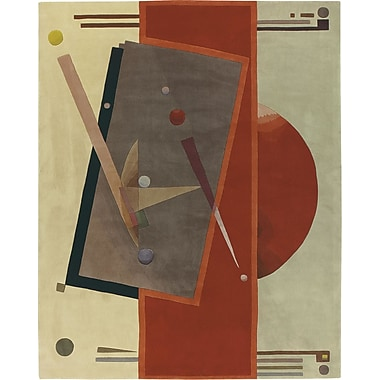 Nourison Guggen. Modern Art Hand-Tufted Area Rug