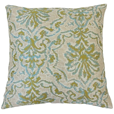 The Pillow Collection Uheri Damask Throw Pillow Cover